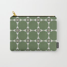 Pantone Plus Feathered Kale Circles Carry-All Pouch