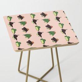 Handstand Avocado Side Table