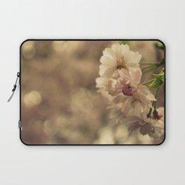 Cherry Blossom Bokeh Laptop Sleeve