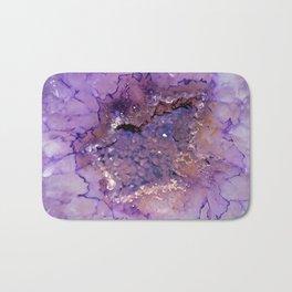 Amethyst Geode Bath Mat
