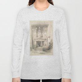 Vintage Illustration of Petra (1849) Long Sleeve T-shirt