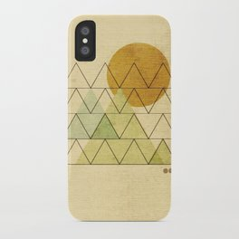 In Harmony iPhone Case