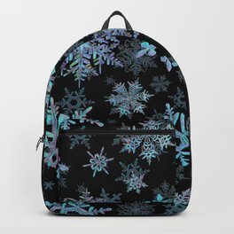 """""""Embroidered"""" Snowflakes Backpack"""