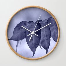 The curtain #2 Wall Clock