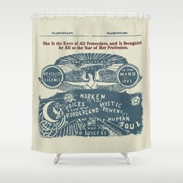 Voices from the Borderlands Shower Curtain