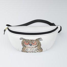 Golden owl Fanny Pack