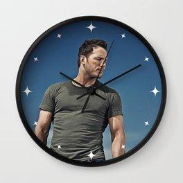 Chris Pratt - Celebrity (Oil Paint Art) Wall Clock