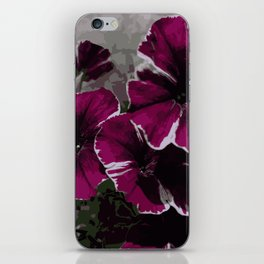 Petunia iPhone Skin