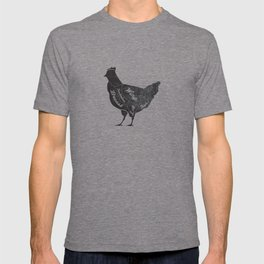 Chicken Butcher Diagram T-shirt