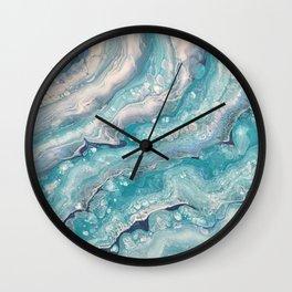 Fluid No. 22 Wall Clock
