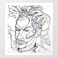 Scalped Art Print