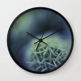 Macrotopia vegetal Wall Clock