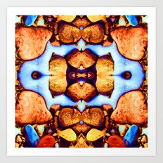 Internal Kaleidoscopic Daze- 23 Art Print