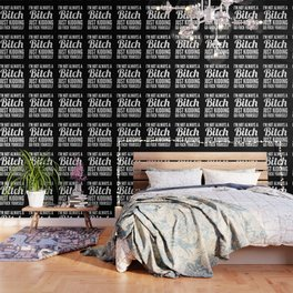 I'M NOT ALWAYS A BITCH (Black & White) Wallpaper