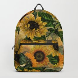 Vintage & Shabby Chic - Sunflowers Backpack