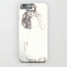 No.6 Fashion Illustration Series iPhone 6s Slim Case