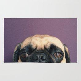 Lurking Pug Rug