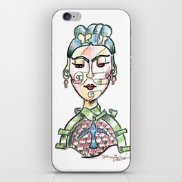 Her Face iPhone Skin