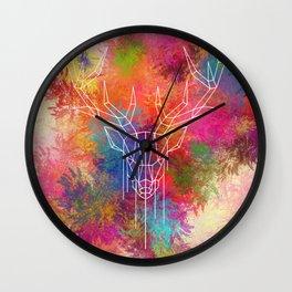 Dearhead Flowerbed Wall Clock