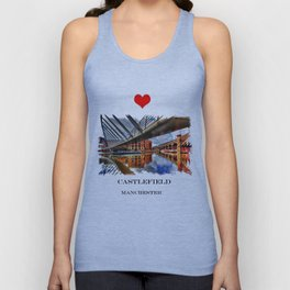 Castlefield Junction Unisex Tank Top