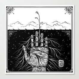 Feed the Soil Canvas Print