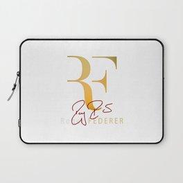 RF is Roger Federer Laptop Sleeve