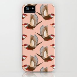 Time flies I iPhone Case