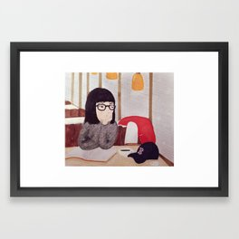After Dark Framed Art Print