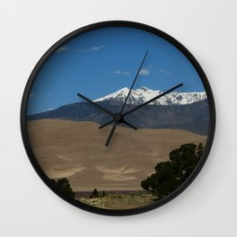 Great Sand Dunes and Mount Herard Wall Clock