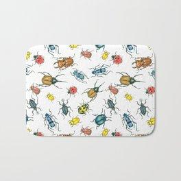 Beetles Bath Mat