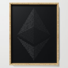 Ethereum Binary Serving Tray
