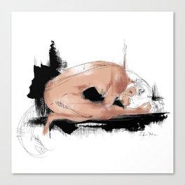 Fish-woman Canvas Print