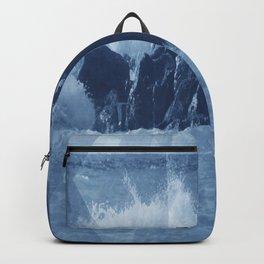 Sea rocks Backpack