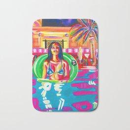 Pool Time Bath Mat