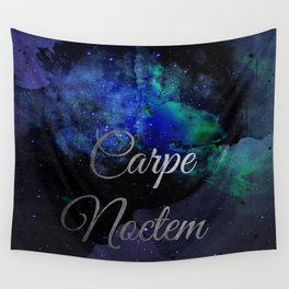 Carpe Noctem (Seize The Night) Wall Tapestry