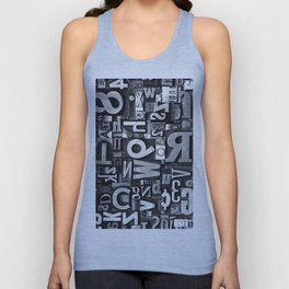 Metal Madness - Typography Photography™ Unisex Tank Top