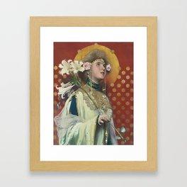 Gottlieb-Theodor von Hartenkampf Kempf Framed Art Print