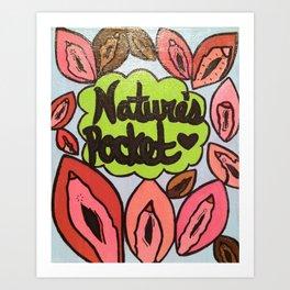 Broad City Nature's Pocket Print Art Print
