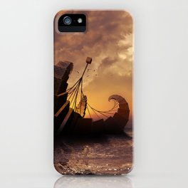 A Ship for All Destinations iPhone Case