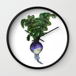 Rooted: The Rutabaga Wall Clock