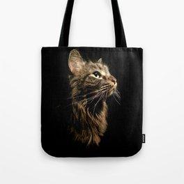 Cosmo In Profile Tote Bag