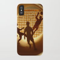 football iPhone & iPod Cases featuring Football by Anastassia Elias