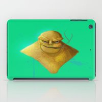 the thing iPad Cases featuring Thing by Iron King