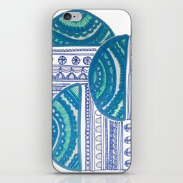 Let's just teeter iPhone Skin