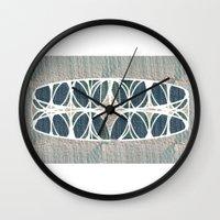 scandinavian Wall Clocks featuring Scandinavian retro by a.r.r.p.