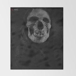 Skull graphic design Throw Blanket
