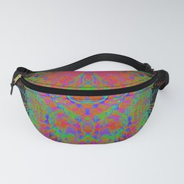 Visionary Flame II (abstract, psychedelic, trippy, psyart, meditation) Fanny Pack
