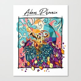 Adam Phoenix Canvas Print