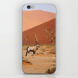 NAMIBIA ... Sossusvlei Oryx II iPhone Skin