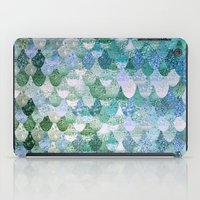 phone iPad Cases featuring REALLY MERMAID by Monika Strigel